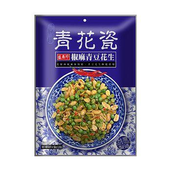 盛香珍椒麻青豆花生130g