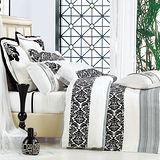 【Betrise格律】頂級加大100%奧地利天絲TENCEL四件式兩用被床包組