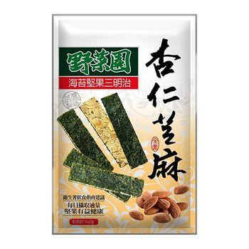 華元野菜園海苔堅果三明治(杏仁芝麻)60g