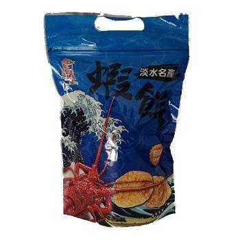 台灣美食全記錄-淡水蝦餅(原味) 90g/包