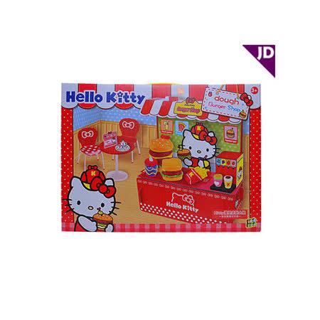 【Hello Kitty-家家酒系列】KT漢堡店黏土組 KT8605