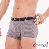 【Bfocus】超輕涼透氣吸排貼身平口褲-深灰色3870
