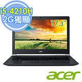 Acer VN7-791G-55MB 17.3吋 i5-4210H 四核 2G獨顯FHD進化輕薄電競筆電