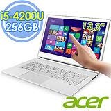 Acer S7-392 13.3吋 i5-4200U 256G SSD Win8輕薄強效觸控筆電- 加送無線滑鼠