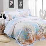 【Betrise  愛在深秋 】加大100%奧地利天絲TENCEL八件式兩用被床罩組