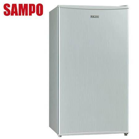 [促銷]SAMPO聲寶 95公升單門迷你獨享冰箱(SR-N10)