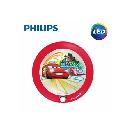【飛利浦 PHILIPS】迪士尼魔法燈-LED感應式夜燈-汽車總動員(71765)