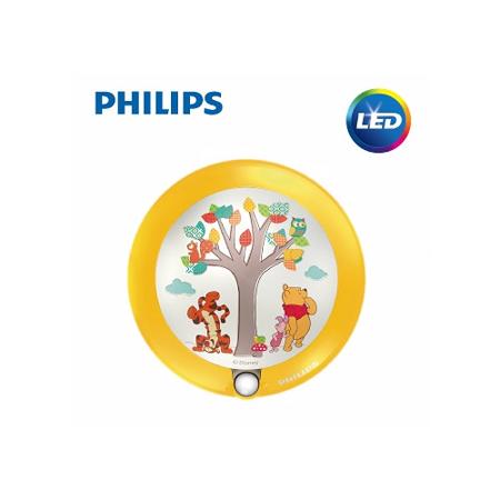 【飛利浦 PHILIPS】迪士尼魔法燈-LED感應式夜燈-小熊維尼 (71765)