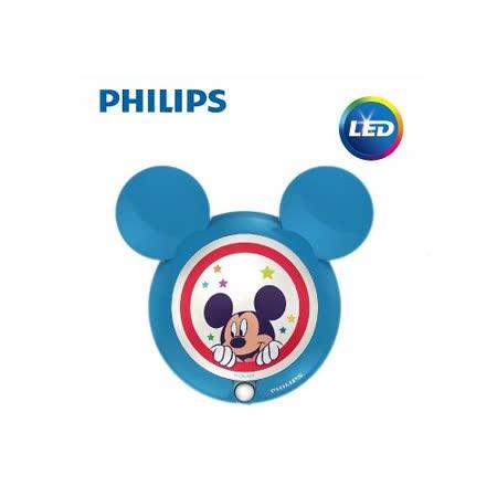 【飛利浦 PHILIPS】迪士尼魔法燈-LED感應式夜燈-米奇 (71766)
