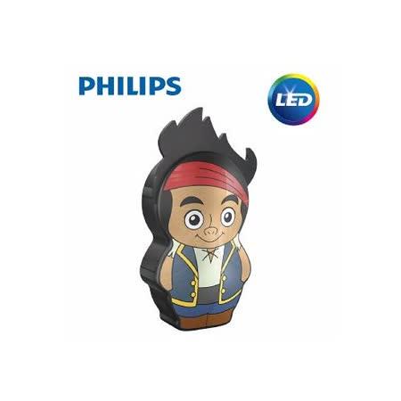 【飛利浦 PHILIPS】迪士尼魔法燈- LED手電筒-傑克與夢幻島海盜 (71767)