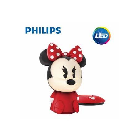 【飛利浦 PHILIPS】迪士尼魔法燈-LED可攜式床邊燈-米妮 (71710)