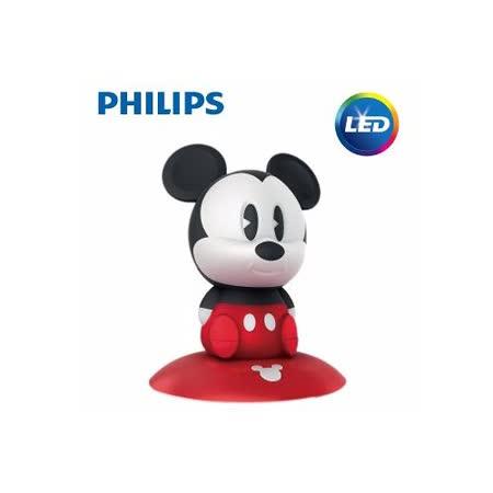 【飛利浦 PHILIPS】迪士尼魔法燈-LED可攜式床邊燈-米奇 (71709)