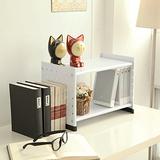 【ikloo】貴族風可延伸式組合書櫃(現代白)