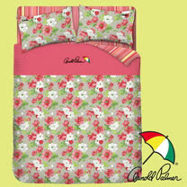 【Arnold Palmer雨傘】晨曦花語-床包被套雙人四件組