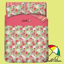 【Arnold Palmer雨傘】晨曦花語-床包被套雙人加大四件組