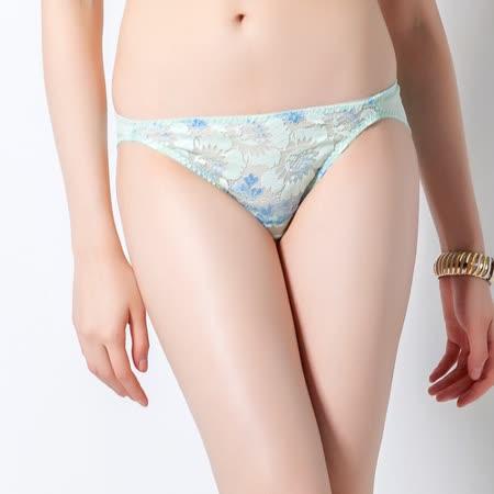 【SWEAR】溝漂?系列低腰蕾絲內褲(鈴蘭綠)