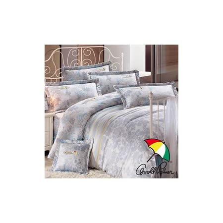 【Arnold Palmer雨傘】迷草醉月-頂級精梳純棉床罩雙人加大七件組