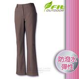 【維特 FIT】女新款 Softshell抗風保暖長褲_FW2806 灰紫色