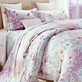 【Betrise花開季節】特大100%奧地利天絲TENCEL八件式兩用被床罩組