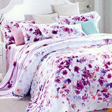 【Betrise紫妍角色】雙人100%奧地利天絲TENCEL八件式兩用被床罩組