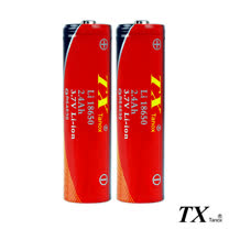 【特林TX】2.4Ah全新安全認證18650鋰充電池2入組(8-E18650-2)