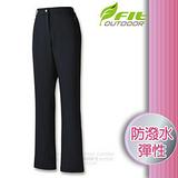 【維特 FIT】女新款 防潑保暖功能褲_FW2801 經典黑