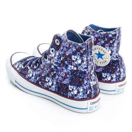 【CONVERSE】(女)印花膠底帆布高筒鞋542559C