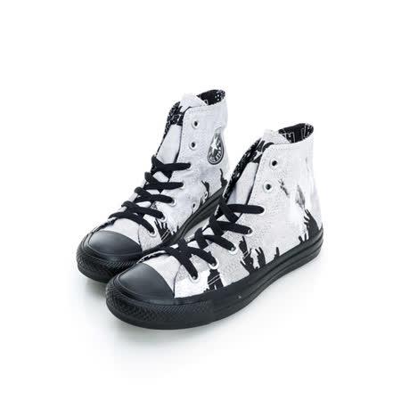 【CONVERSE】(男/女)圖騰膠底帆布膠底高筒鞋143252C