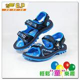 【G.P 大童織帶涼鞋33-37-尺碼】G9180B-20 多功能磁扣涼鞋(藍色共三色)