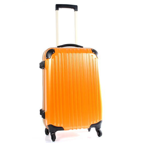 【Commodore 戰車】9809系列24吋TSA霧面防刮登機箱旅行箱(橘色)