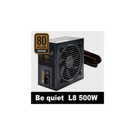 Be Quiet L8-500W /80 電源供應器 PLUS銅牌