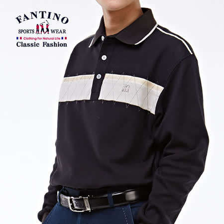 【FANTINO】法式素面休閒上衣(黑)141113