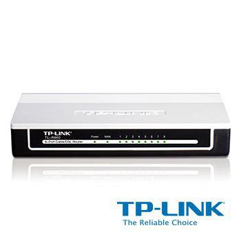 TP-LINK 8 埠纜線/DSL 路由器 TL-R860