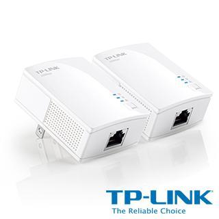 TP~LINK AV200 微型電力線 橋接器 雙包組 Kit  TL~PA2010KIT