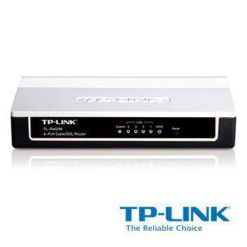 TP-LINK 4 埠纜線/DSL 路由器 TL-R402M