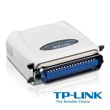 TP-LINK 單一平行埠快速乙太網路列印伺服器 TL-PS110P
