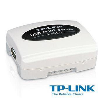 TP-LINK 單一 USB2.0 連接埠快速乙太網路列印伺服器 TL-PS110U