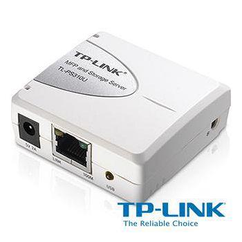 TP-LINK 單一 USB2.0 連接埠 MFP 和儲存伺服器 TL-PS310U