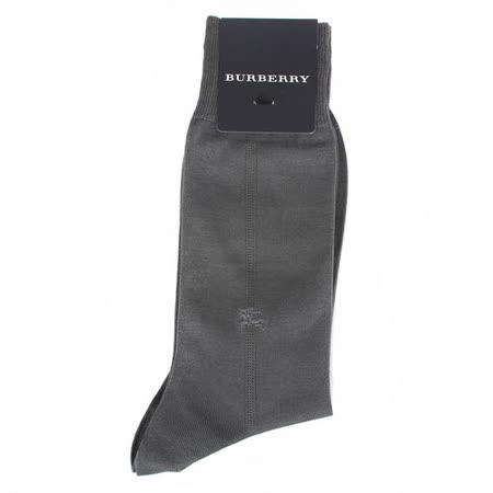 【開箱心得分享】gohappy 線上快樂購BURBERRY 經典戰馬刺繡中直紋紳士襪-灰色評價怎樣天母 sogo