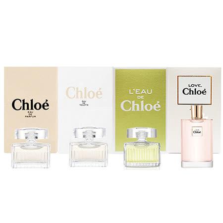 Chloe 經典女性小香禮盒4件組