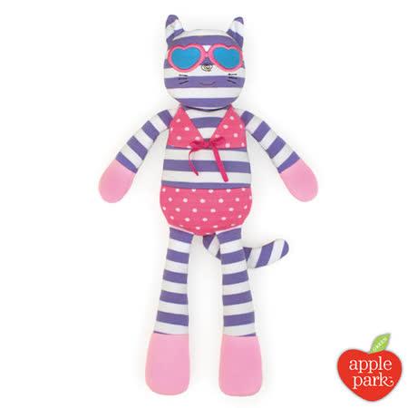 【美國 Apple Park】有機棉安撫玩偶 - 時尚靚貓