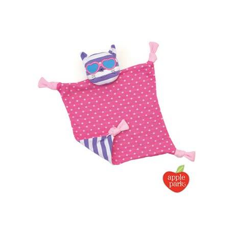 【美國 Apple Park】有機棉安撫巾 -   時尚靚貓