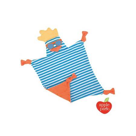 【美國 Apple Park】有機棉安撫巾 -   衝浪酷雞