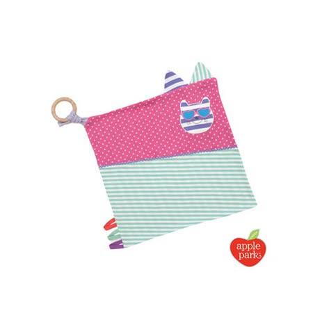 【美國 Apple Park】 有機棉萬用方巾 -  時尚靚貓
