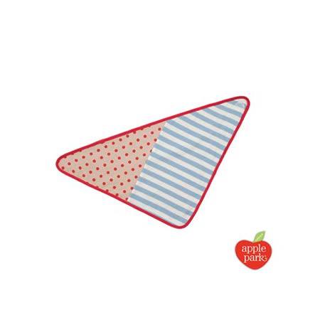 【美國 Apple Park】有機棉三角巾圍兜 - 拳師犬包哥