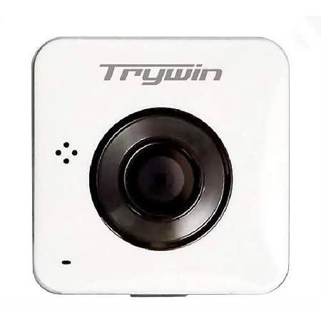 Trywin WD3 超輕巧無線雲端行車記錄器-白 限量送:8G+ 防水盒+腳踏車架組