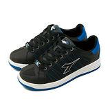 【男】 DIADORA 時尚潮流板鞋 街頭霸王系列 黑藍 9890