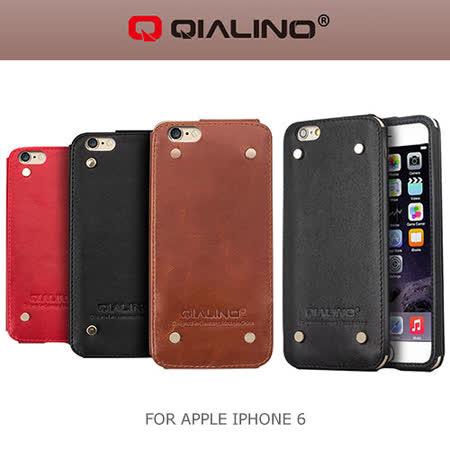 QIALINO 洽利 APPLE iPhone 6 4.7吋 簡約風 經典系列 半覆式皮套