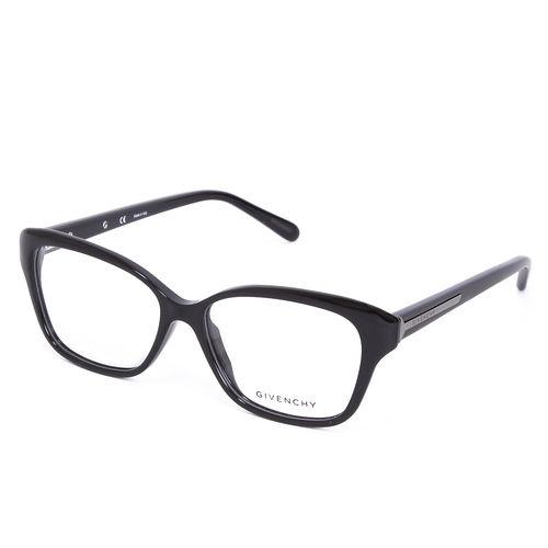 GIVENCHY 法國魅力紀梵希都會玩酷系列平光眼鏡^(黑^) GIVGV8590700