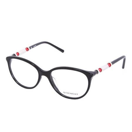 GIVENCHY 法國魅力紀梵希時尚都會系列光學眼鏡(黑)GIVGV8610700